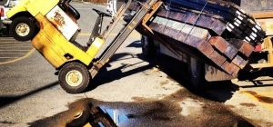 Forklift Accident